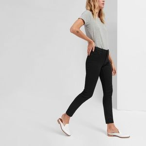 Everlane, Mid-rise Skinny Jeans, Black, size 24.